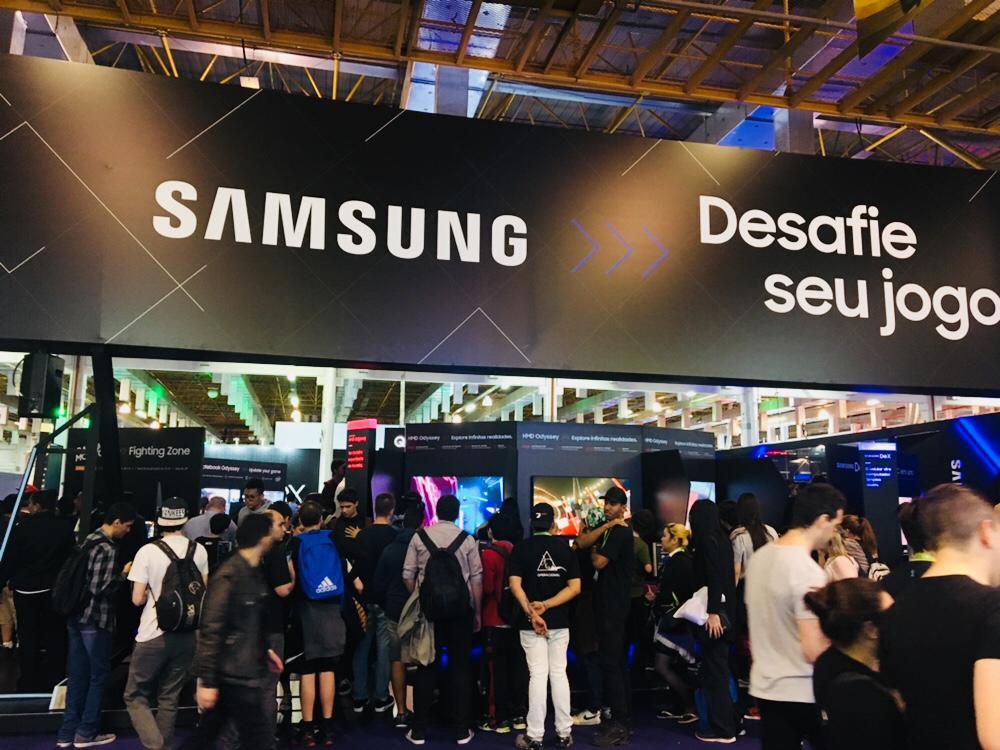 BGS 2018: Inovações e Tecnologias apresentadas pela Samsung
