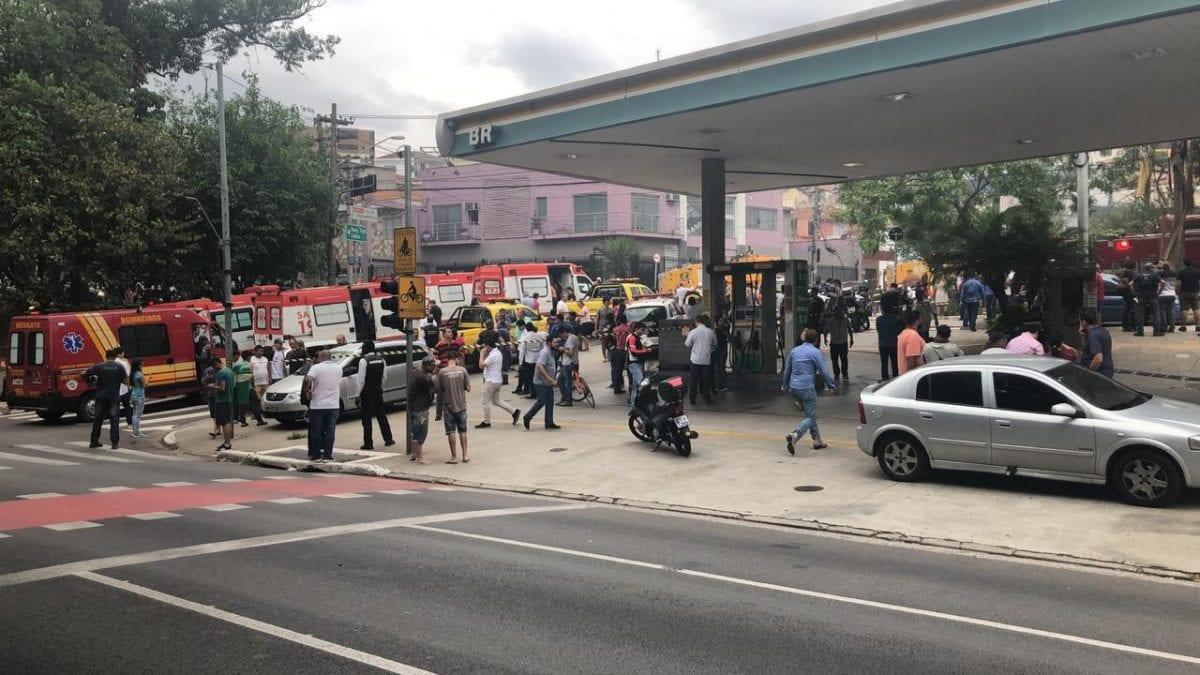 São Paulo: Queda de avião de pequeno porte na zona norte