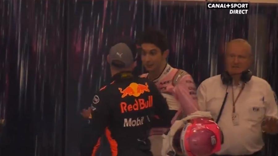 Pilotos da Fórmula 1 brigam e Verstappen pagará serviço comunitário