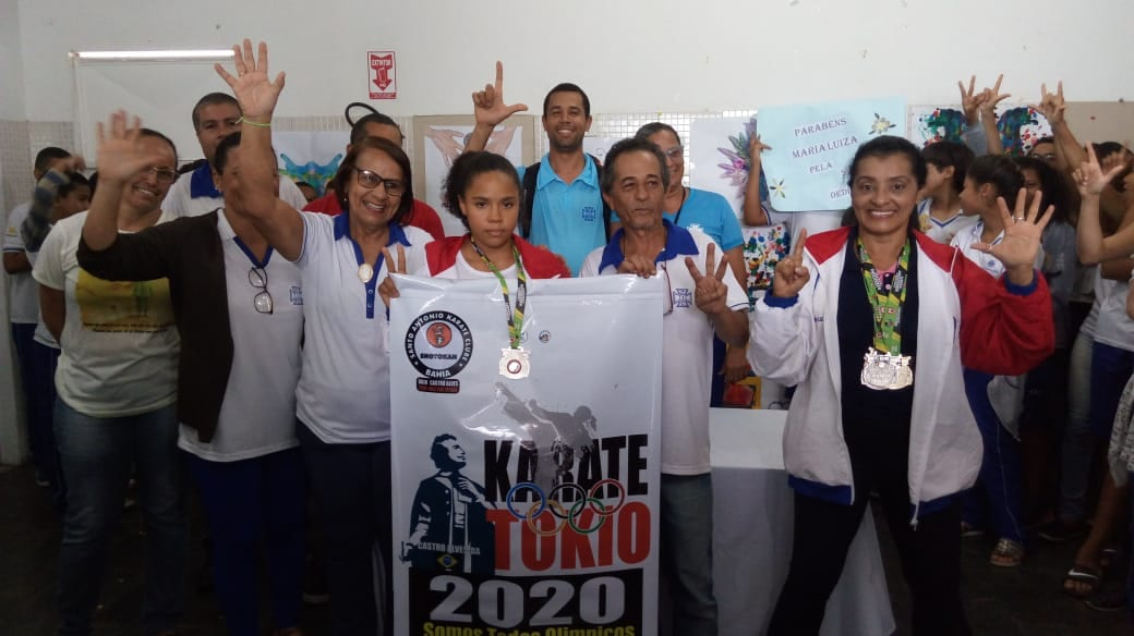 Bahia ganha prata no campeonato de Karate brasileiro