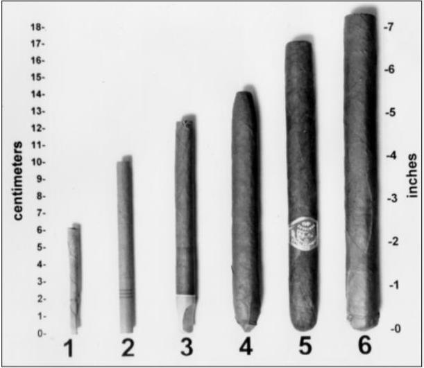 O tabaco é encontrado em cigarros, charutos, cigarretes, entre outros tipos.