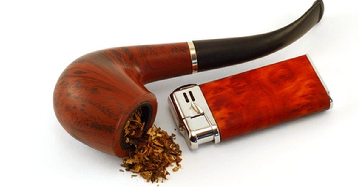 O cachimbo é um método antiquado de fumar.