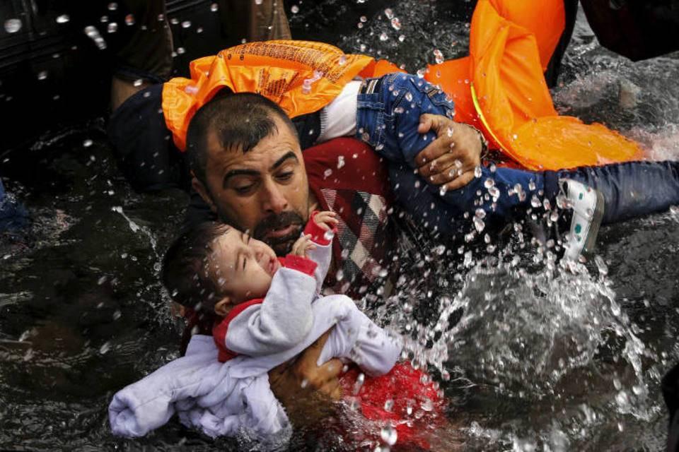 Fotos impressionantes de refugiados
