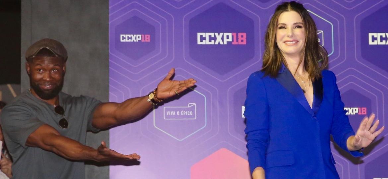 Sandra Bullock aparece na CCXP 2018 e fala sobre seu novo filme