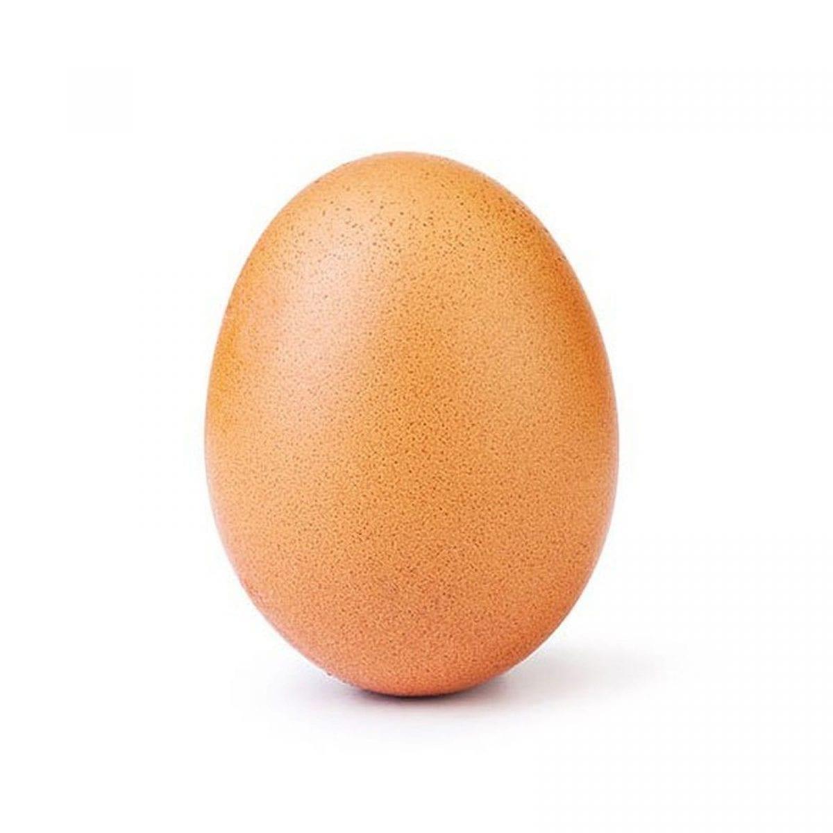 A foto de um ovo é o post mais curtido do Instagram