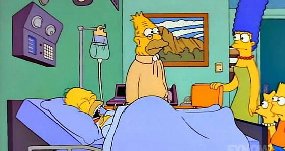 Simpsons: Homer está em coma há anos