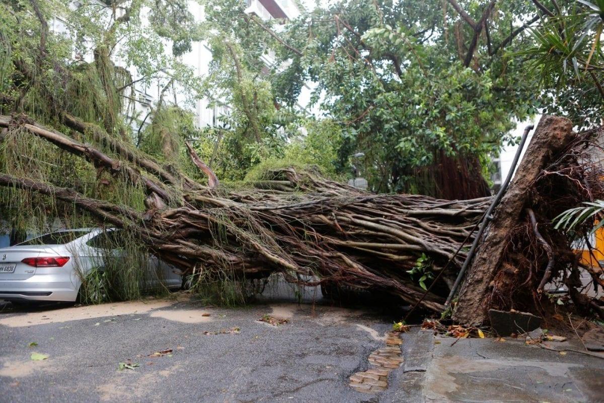 As Imagens Mais Impressionantes da Tempestade no Rio de Janeiro