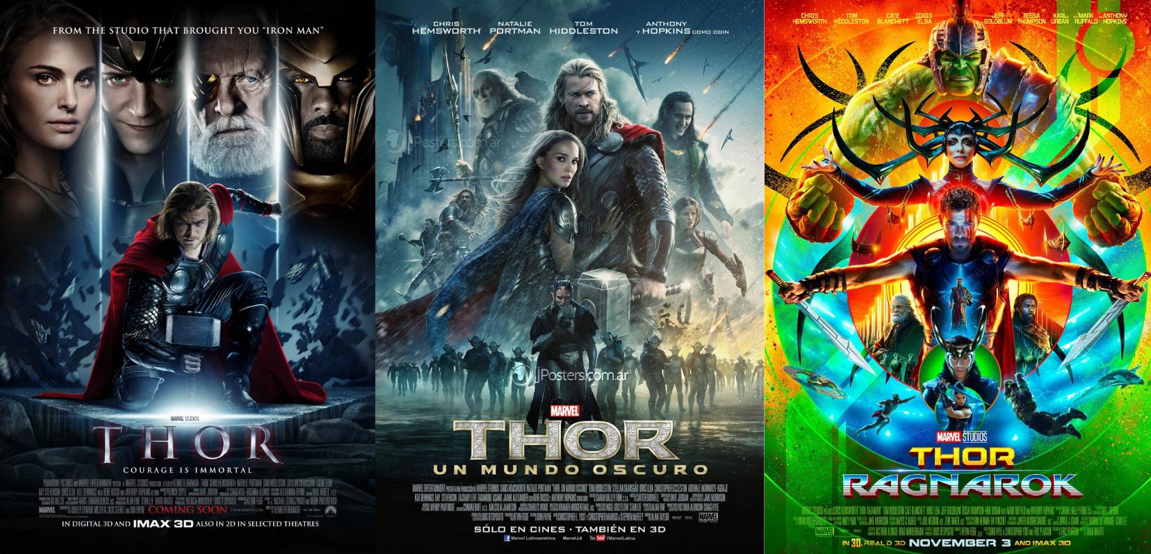 Qual a sequência de Thor?
