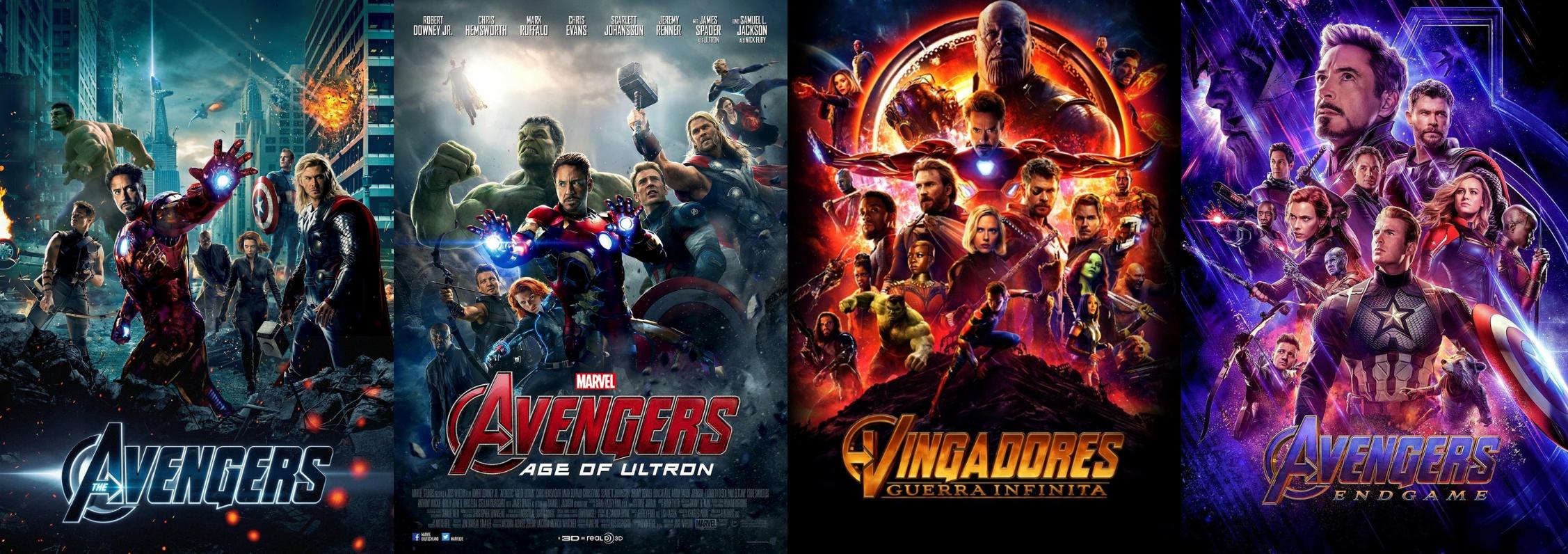 Cronologia Marvel Vingadores.