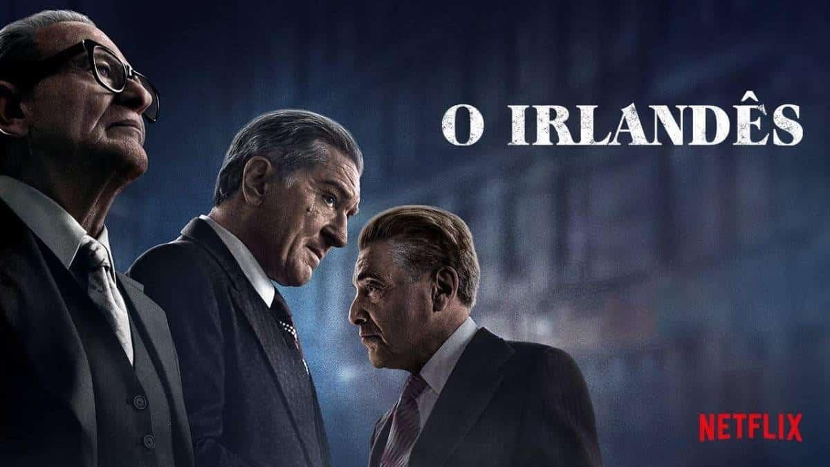 Netflix divulga teaser de O Irlandês, o filme de Scorsese com De Niro e Al Pacino