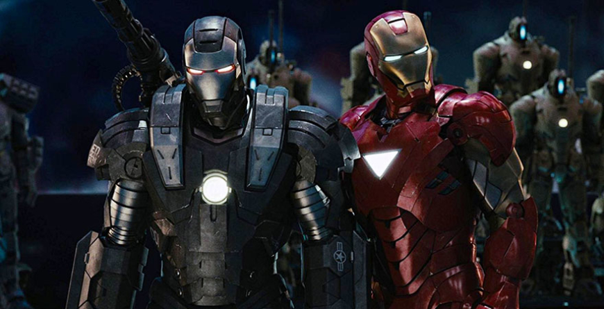 Homem de Ferro 2 (2010) faz parte da Fase 1 da MCU.