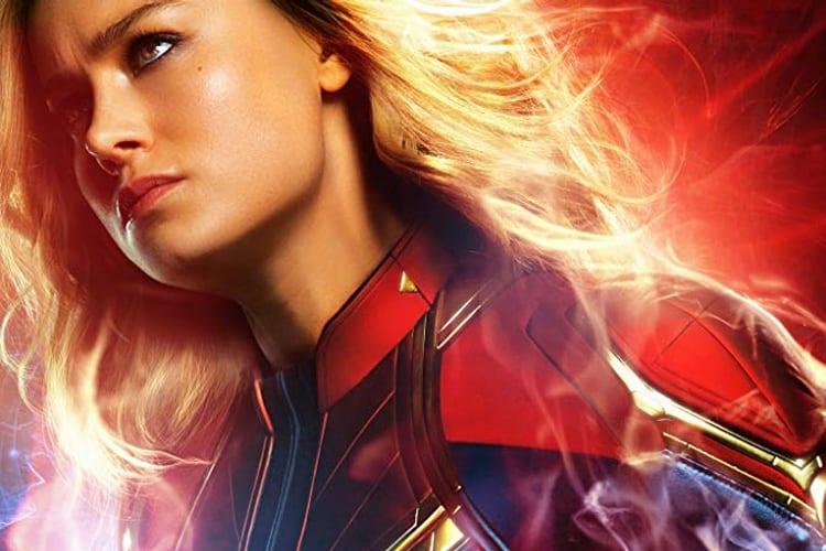 Capitã Marvel rende US$11 milhões em uma segunda feira