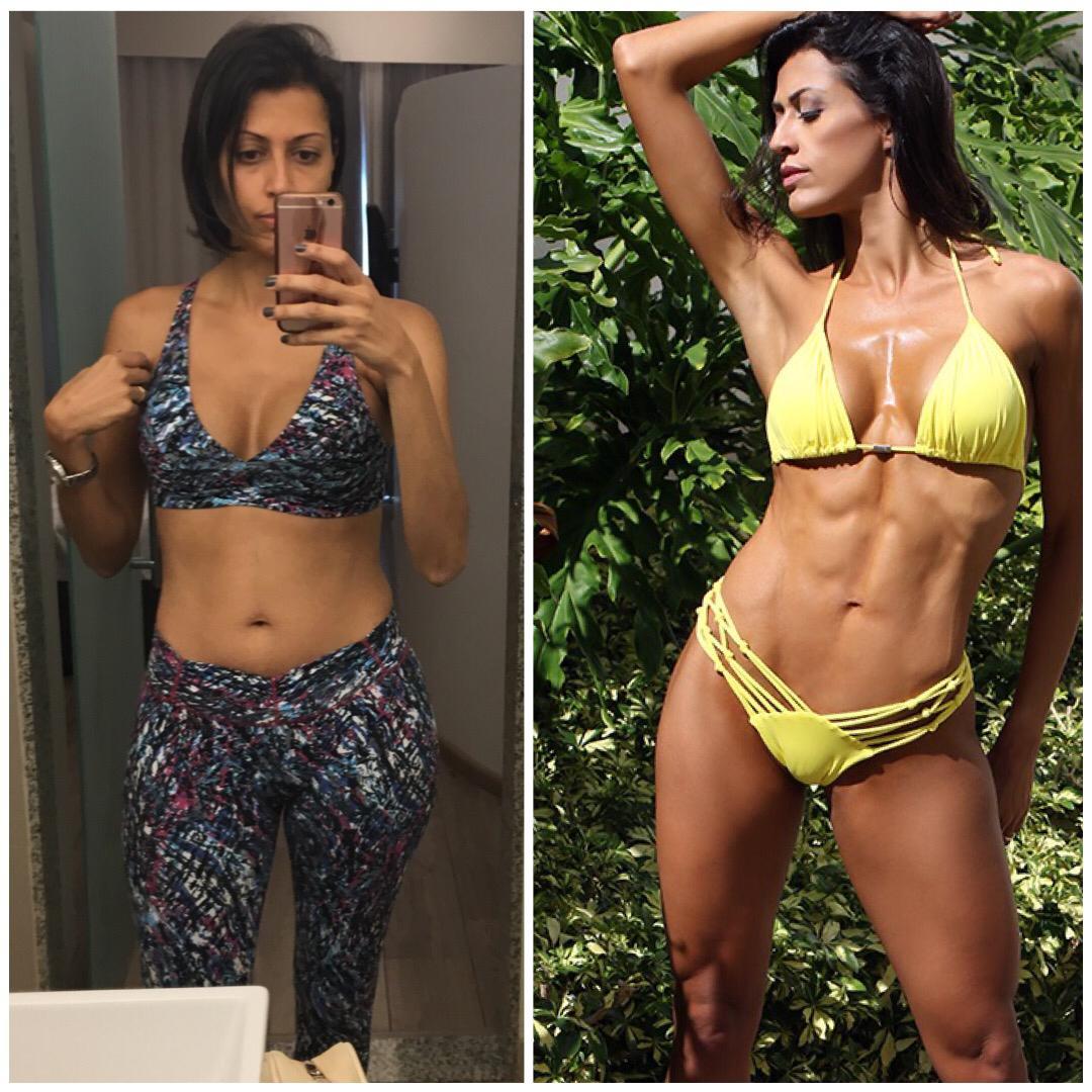 Diva Fitness revela segredos de seu antes e depois