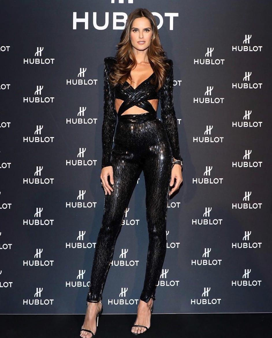 Izabel Goulart, uma das Angels de destaque da Victoria's Secret.