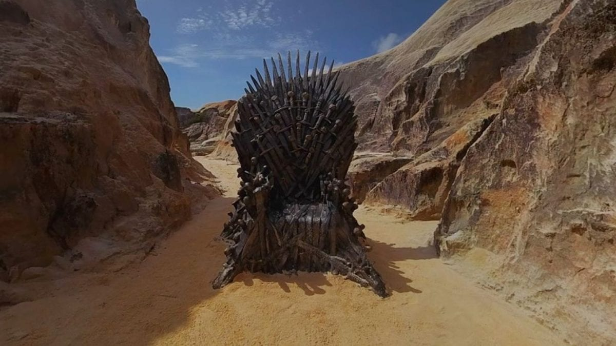 4º trono de Game of Thrones é encontrado no Ceará