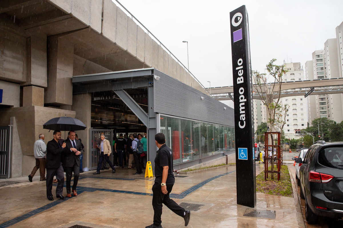 Nova Estação de Metrô Inaugurada Hoje em São Paulo