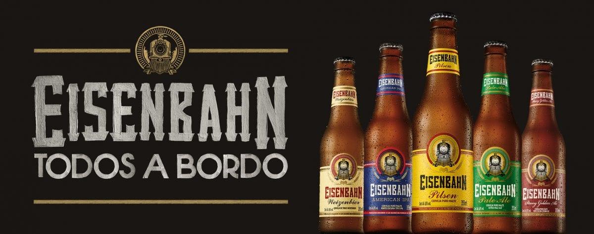 Eisenbahn lança campanha Todos a Bordo e convida consumidores a embarcar no universo das cervejas especiais