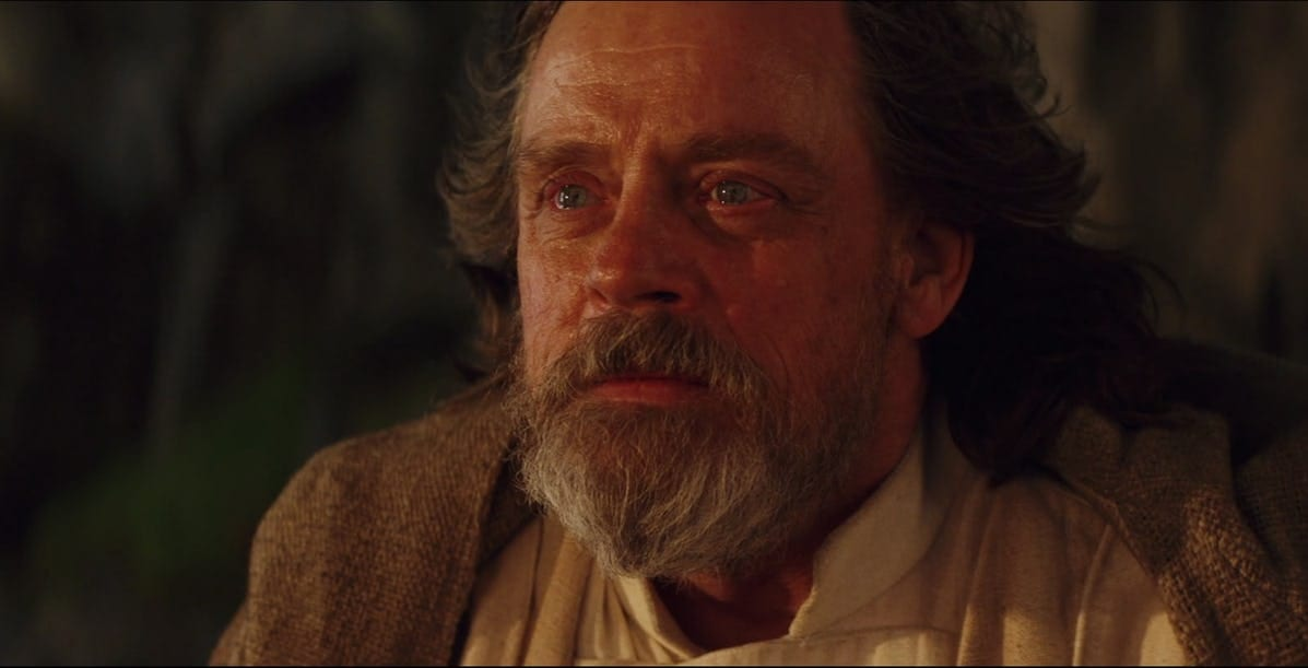 Luke Skywalker morreu virgem?