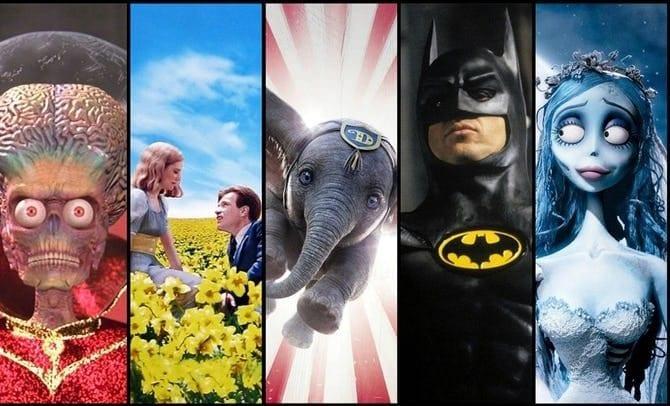 Os 15 melhores filmes de Tim Burton – incluindo Dumbo