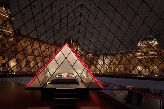 Uma noite no museu – Airbnb  sorteia pernoite no Museu do Louvre