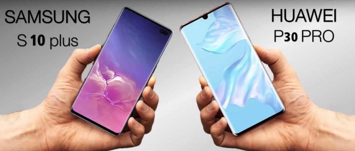 Qual melhor celular do mundo: Huawei P30 Pro ou Samsung  S10+?