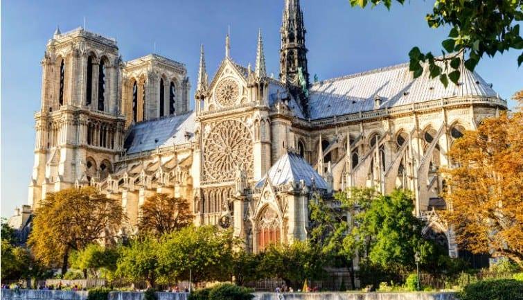 O acervo da Notre Dame