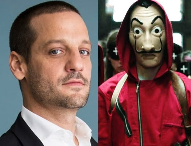 Rodrigo de la Serna confirma 4ª temporada de La Casa de Papel