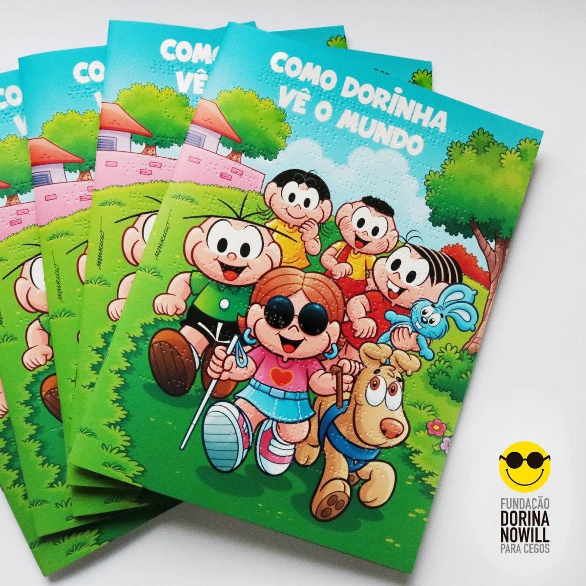 Instituto Maurício de Sousa lança livro sobre personagem cega