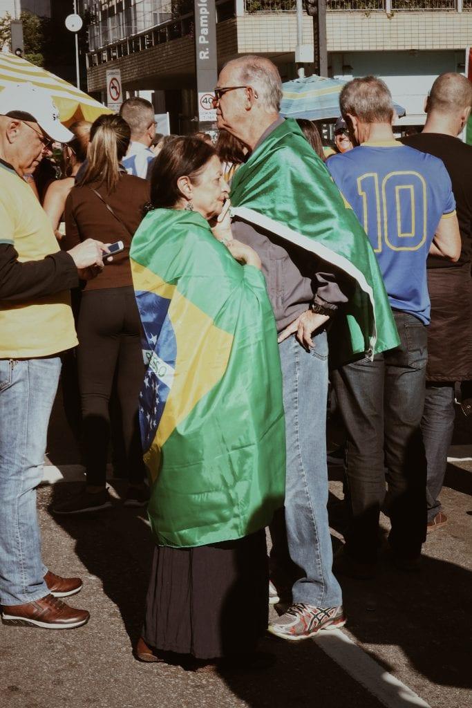 Manifestação na Paulista