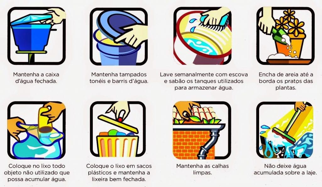 Casos de dengue aumentam no Brasil.