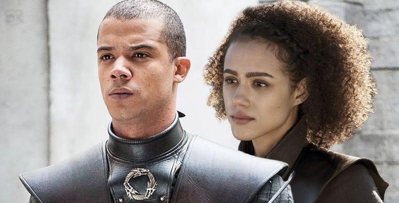 Game of Thrones Verme Cinzento vai à Naath