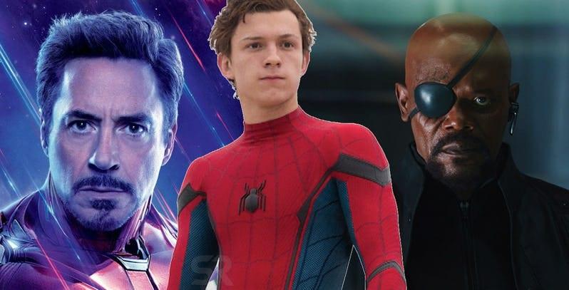 Nick Fury X Homem de Ferro: o novo tutor de Homem Aranha