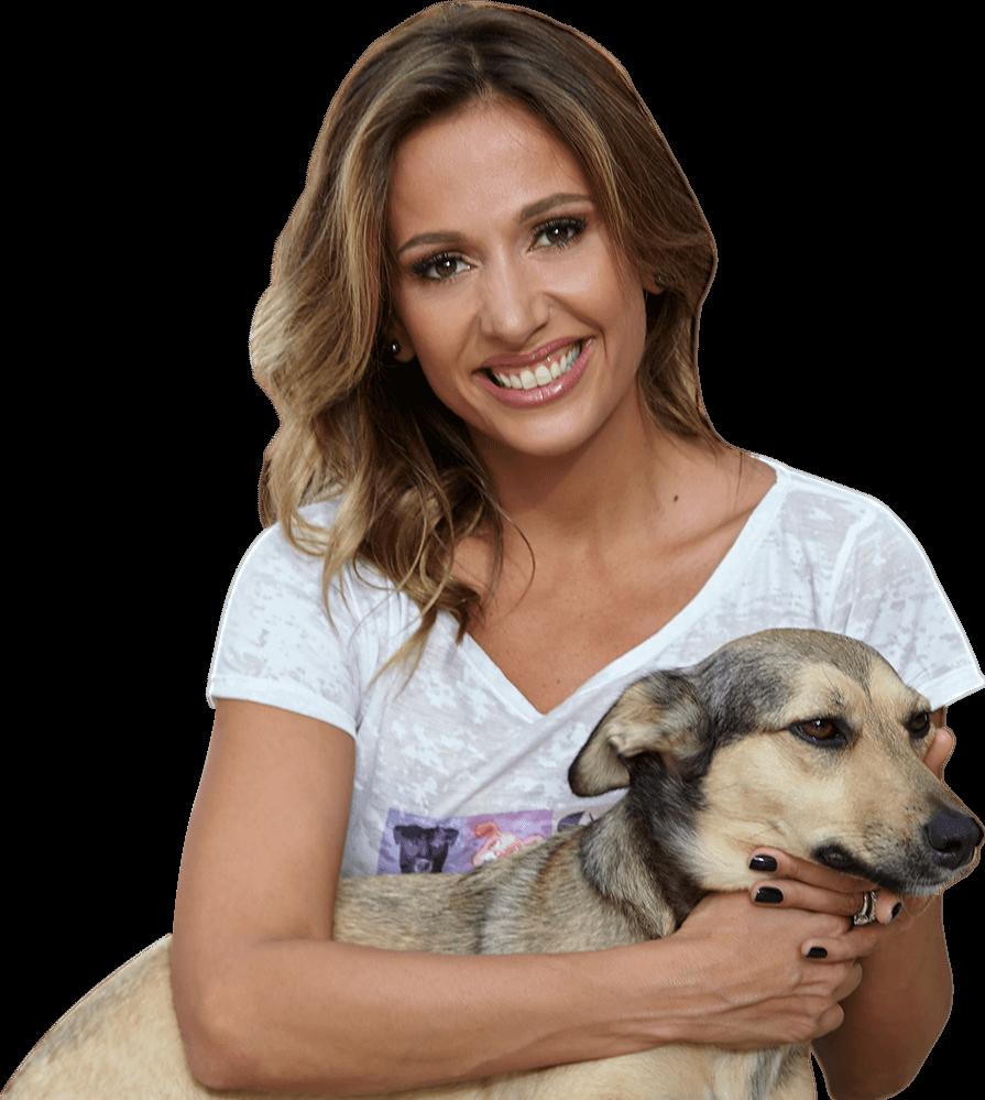 Luisa Mell, vegana.