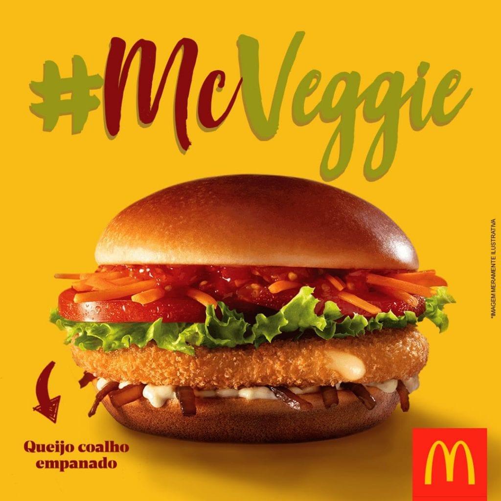 McVegan, ou McVeggie.