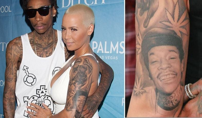 As Tatuagens de Amber Rose