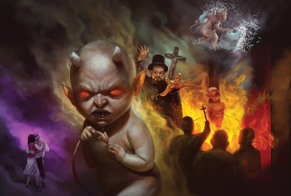 O curioso caso do bebê diabo