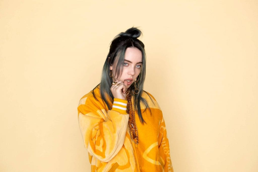 retrato da billie eilish