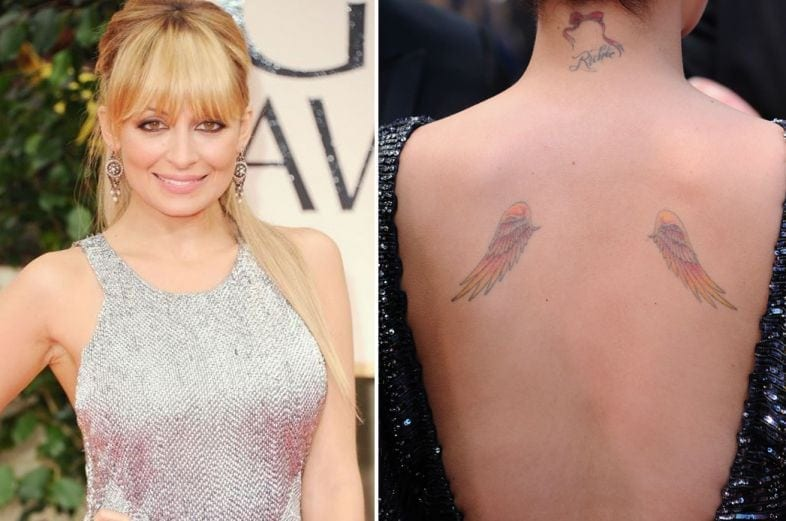 As Tatuagens de Nicole Richie