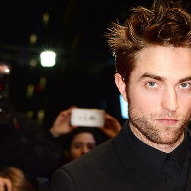 Robert Pattinson testa