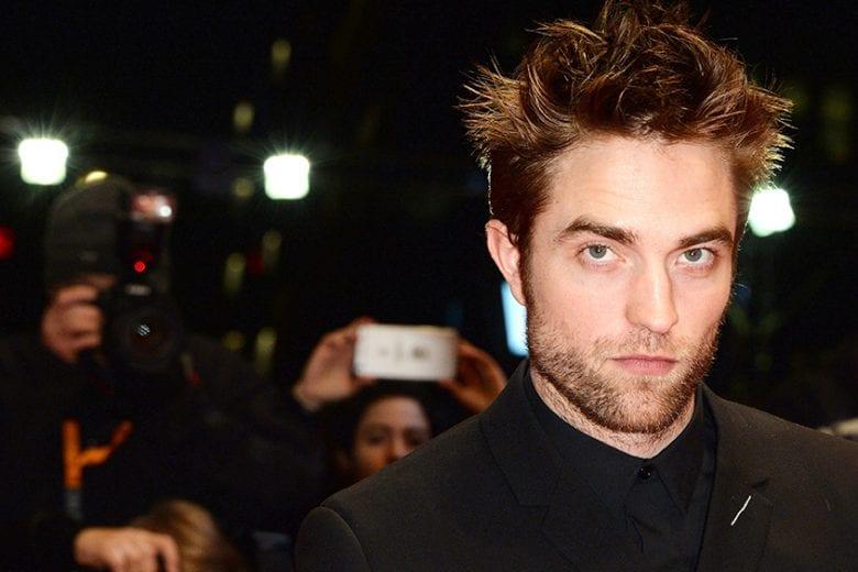 Robert Pattinson testa
