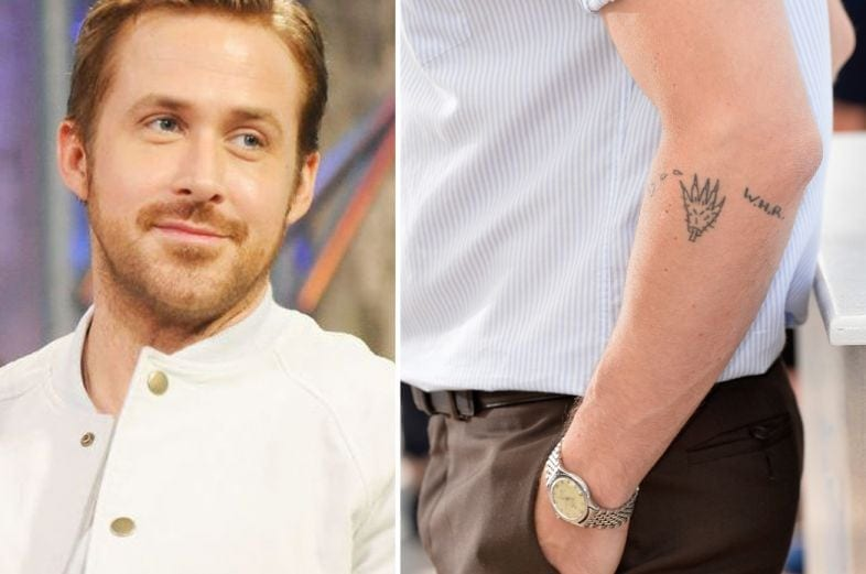 As Tatuagens de Ryan Gosling