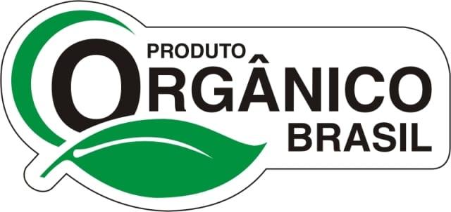 Selo para produtos orgânicos certificados.