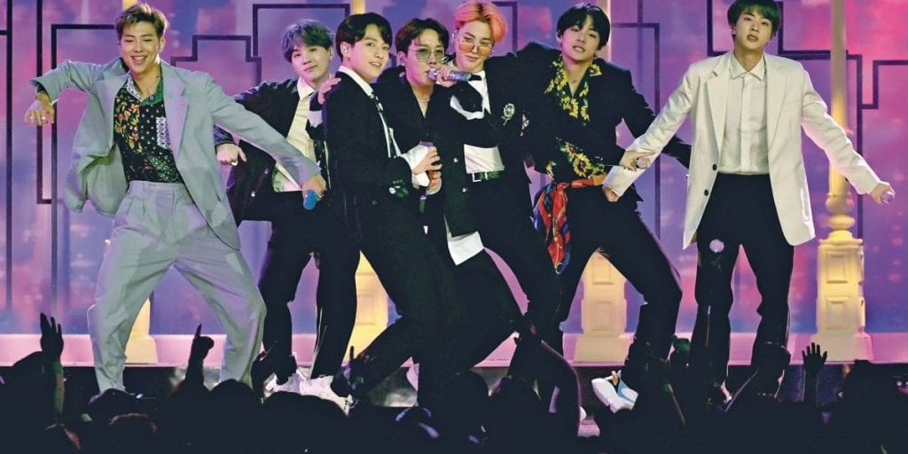 BTS apresenta a turnê 'Love Yourself: Speak Yourself' - Getty Images