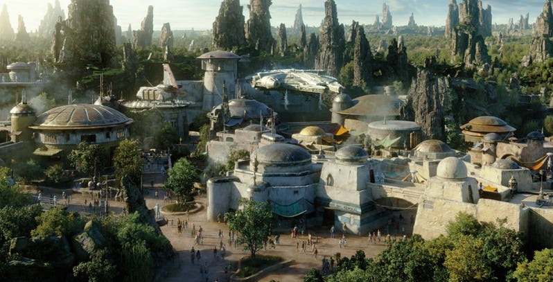 Star Wars Galaxy's Edge: Disney divulga novas fotos do parque