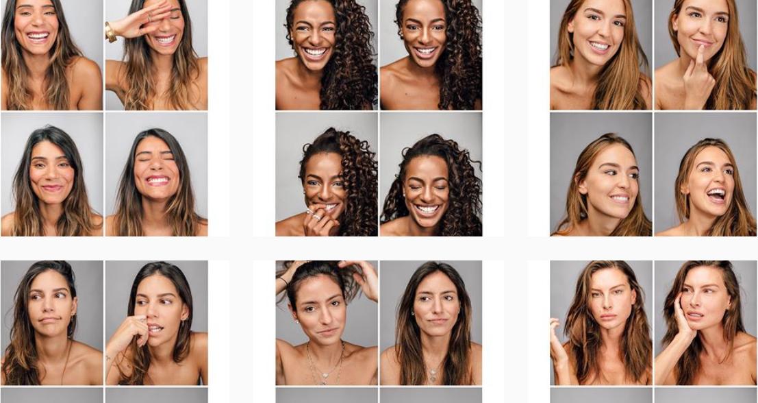 Beleza da Mulher – Projeto retrata a singularidade delas