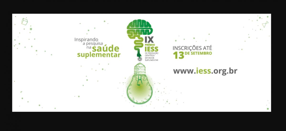 IX Prêmio IESS de Produção Científica em Saúde Suplementar tem inscrições abertas