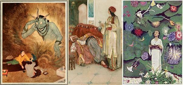 A versão original se passa na China, a Disney, no entanto, ambientou sua história no Oriente Médio.