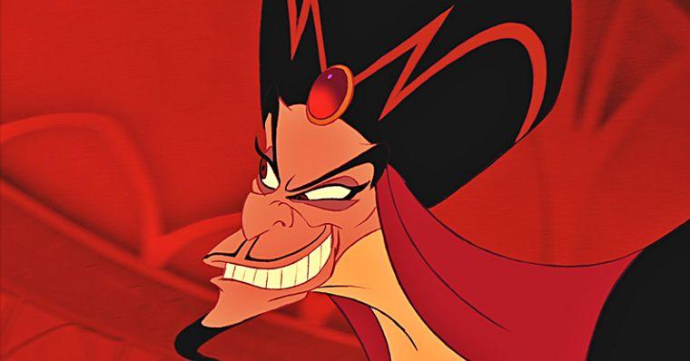 Jafar é o vilão de Aladdin.