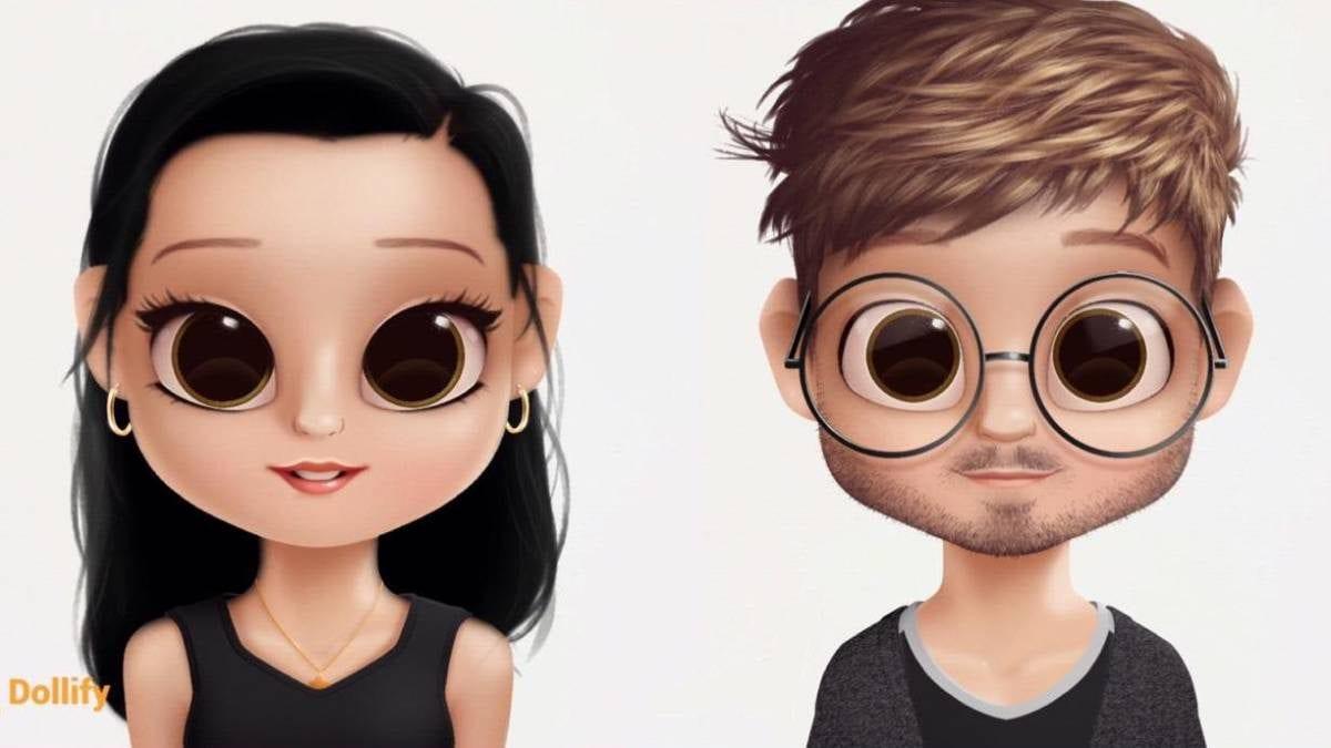 Dollify – O novo app do momento! Faça agora sua miniatura personalizada