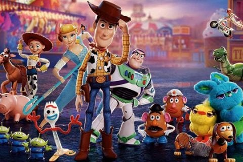 Toy Story 4 personagens principais